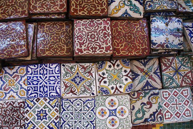 Марокканская плитка в интерьере